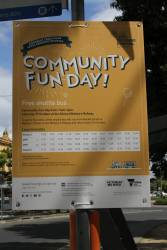 'Community fun day' promotion from LXRA for the Kororoit Creek Road level crossing removal
