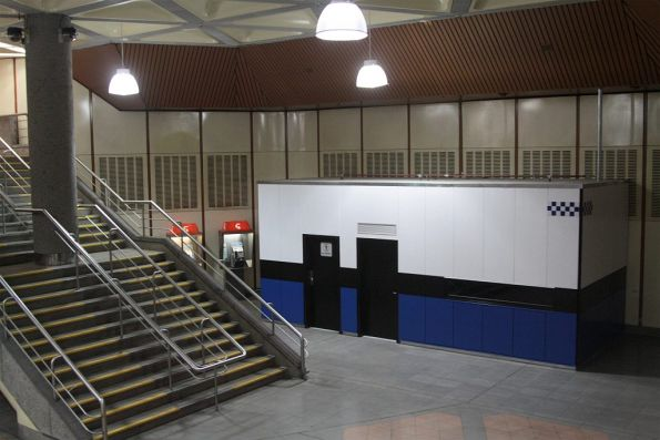 Completed PSO pod at Flagstaff station