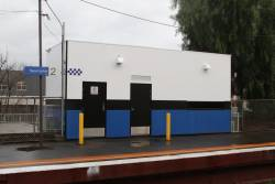 Completed Baillieu Box at Newmarket station