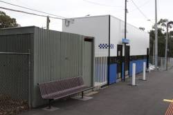 'Baillieu Box' located next door to a disused toilet block at Montmorency