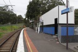 'Baillieu Box' overshadows the rest of Montmorency railway station