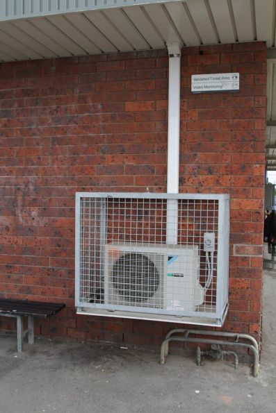 Split-system air conditioner for the PSO offices at Tottenham station