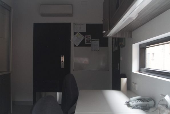 Office inside the PSO pod at Macleod