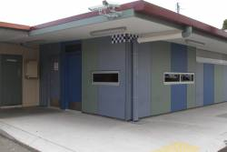 PSO pod added to the car park side of the Upfield station building