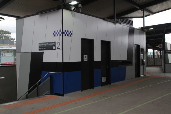 PSO pod on the concourse at Springvale