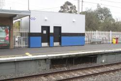 PSO pod at East Malvern platform 1