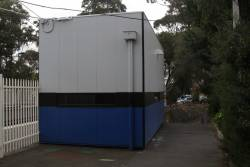 PSO pod at Mount Waverley platform 2