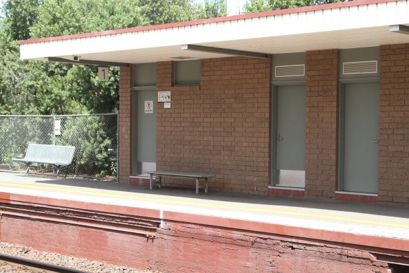 PSO pod retrofitted into the station building at Alphington platform 1