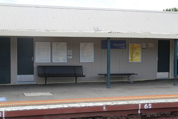 PSO pod retrofitted into the disused station building at Glenhuntly platform 3
