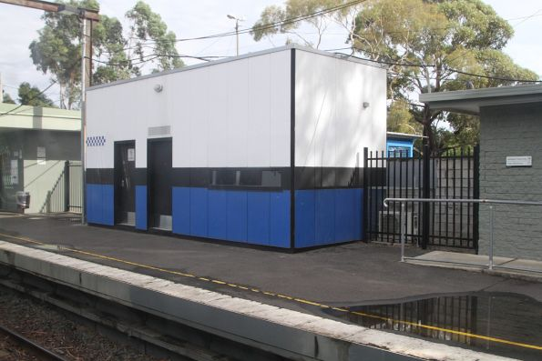PSO pod at Ferntree Gully platform 1