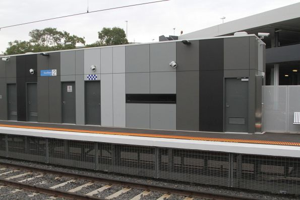 PSO pod at Southland station platform 2