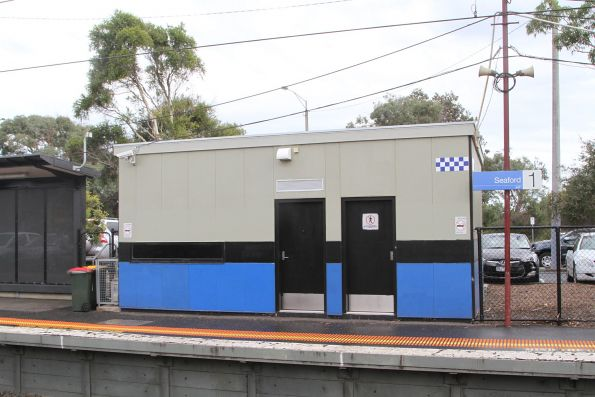 PSO pod at Seaford platform 1