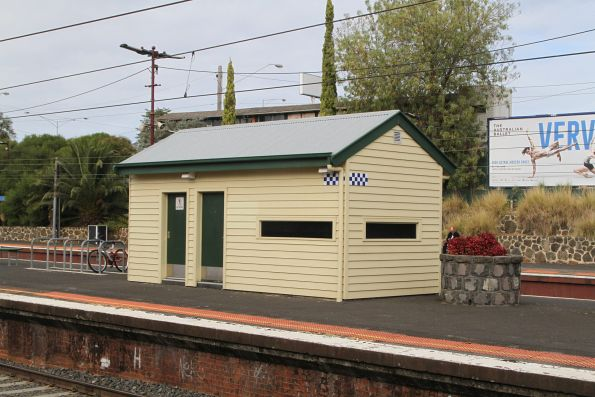 Heritage styled PSO pod at Malvern platform 2 and 3