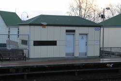 PSO pod at Traralgon station