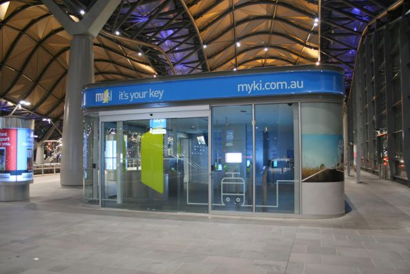 Myki Discovery Centre at Southern Cross reopened