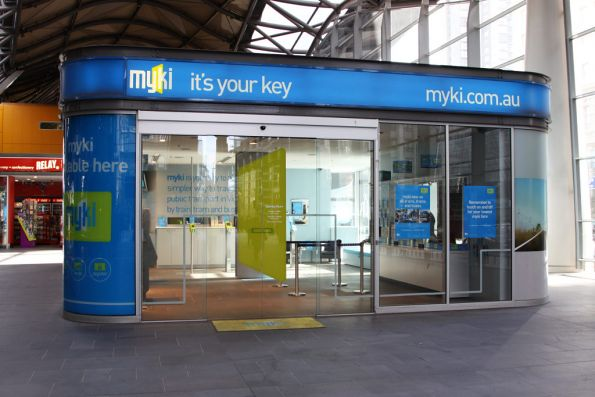 Myki Discovery Centre at Southern Cross now set up to serve actual customers