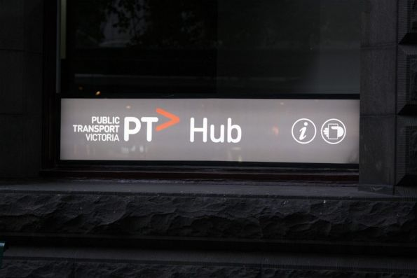 Metshop on Swanston Street now rebranded as the 'PT> Hub'
