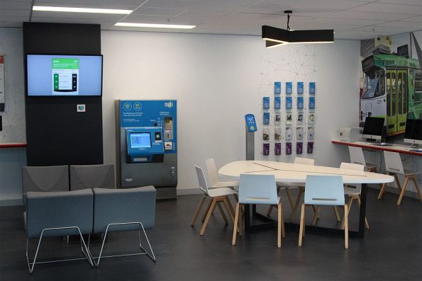 Inside the new PTV Hub at 750 Collins Street, Docklands