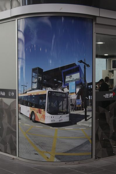 PTV Hub at Southern Cross has replaced their bus photo with their current livery