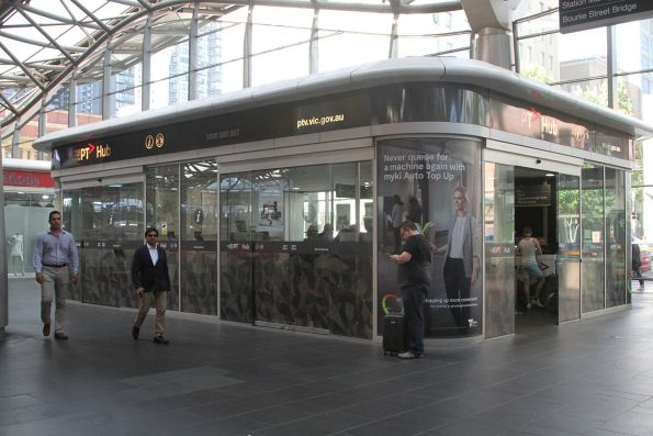 PTV Hub at Southern Cross