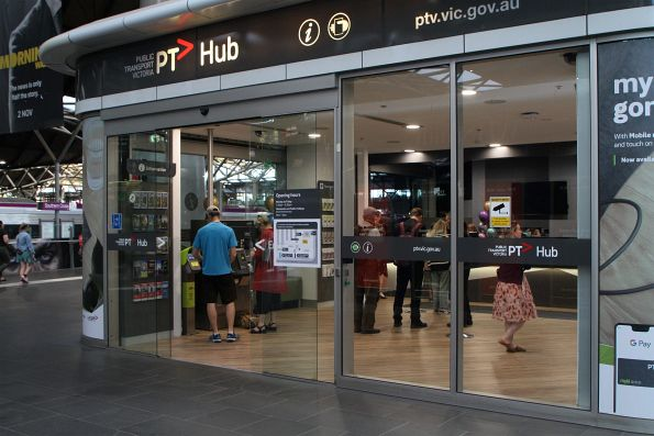 Renovated PTV Hub has reopened at Southern Cross Station