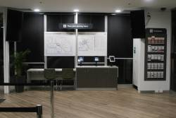 'Plan your journey' area at the Southern Cross PTV hub