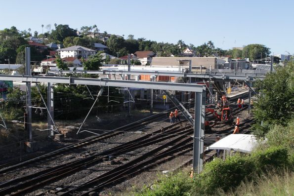 Shutdown at Bowen Hills station for trackwork