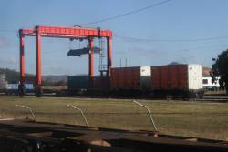 Toll freight yard at Merinda, outside the city of Bowen
