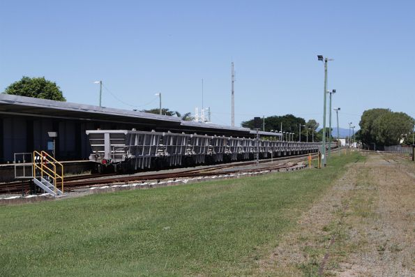 Aurizon GNZB wagons on a southbound ore train at Proserpine