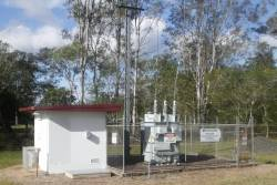 Autotransformer site at Mooloolah on the North Coast line