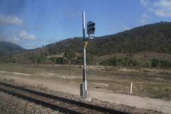 Signal KI28P on the North Coast line at Kaili, west of Merinda and Bowen