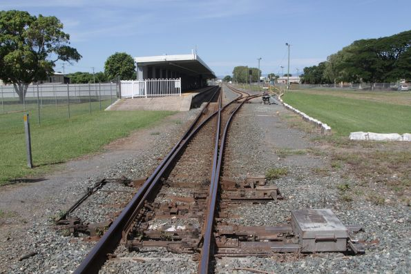 Pointwork at the north end of the yard at Proserpine