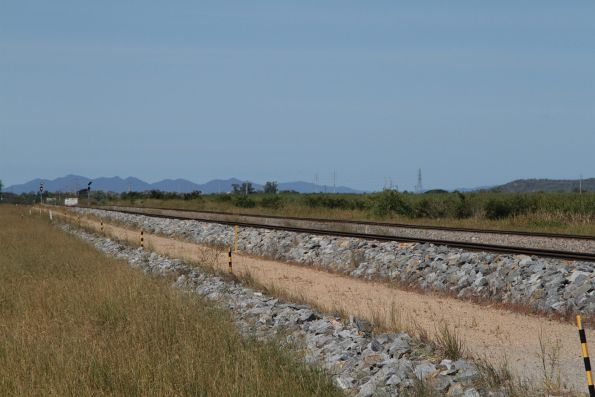 Double track section of the North Coast line between Durroburra and Kaili