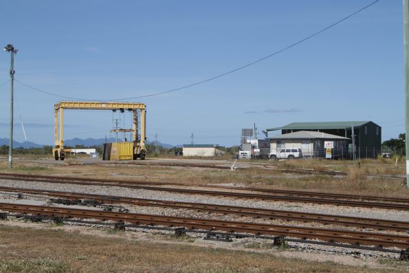 Aurizon freight yard at Merinda, outside the city of Bowen