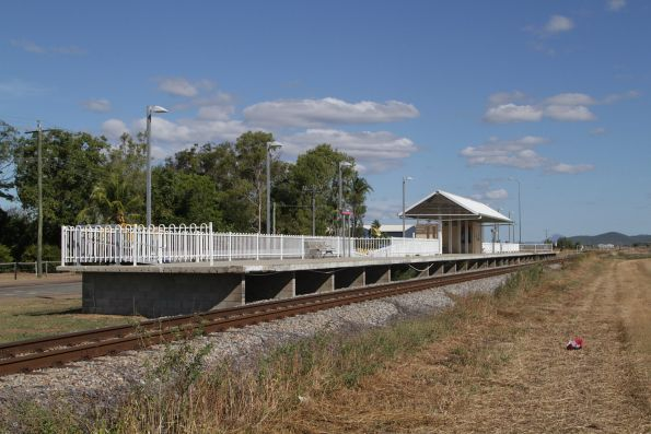 Platform side of Bowen station