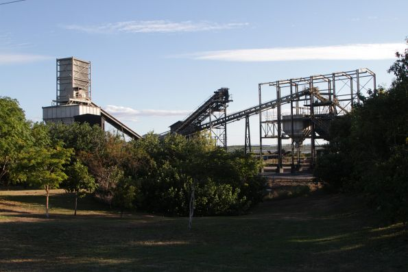 Conveyor belts at the Bowen Coke Works