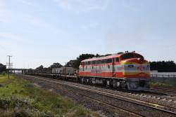 Heads for Anzac Sidings to load up with rail