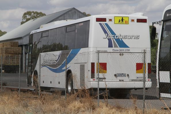 Jacobson Coach Tours 1670AO parked in Murchison