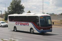Crown Coaches southbound on CityLink at Bell Street