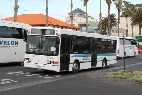 Nuline Charter #78 2269AO on a cruise ship shuttle at Station Pier