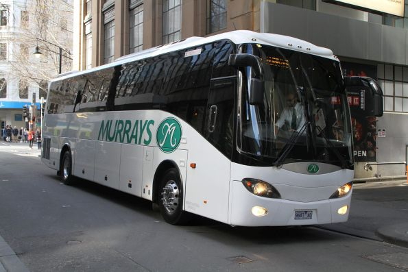 Murrays coach 9687AO at Little Bourke and Swanston Street
