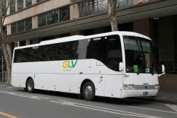 GLV Coaches BS01JC at William and Lonsdale Street