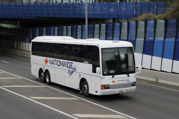 Nationwide Tours coach #212 4100AO on Anderson Road, Sunshine