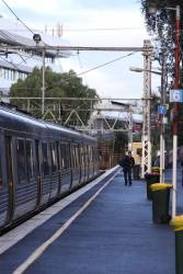 Drop on drivers in use at Flemington Racecourse to speed up the turnaround time in the single platform in use