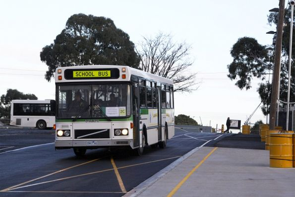 Next wave of buses arrives at Flemington Racecourse