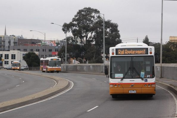 Trio of Sita buses operate rail replacement services for the Sunbury line