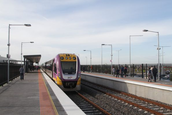 VLocity 3VL55 on display at Tarneit platform 1