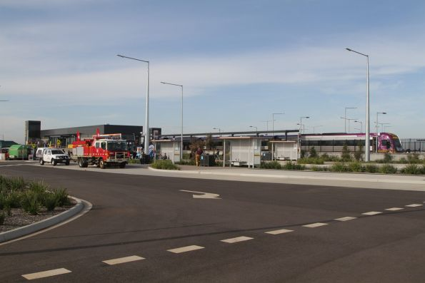 Bus interchange at Tarneit station