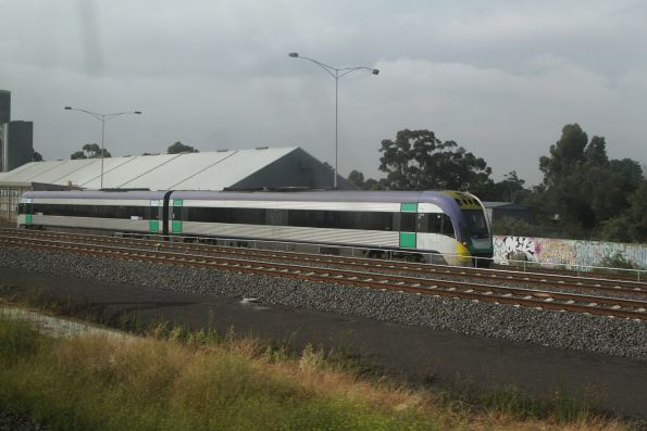 Regional Rail Link test trains