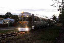 This week railcar 2028 made the four day journey from Cairns and Forsayth and back